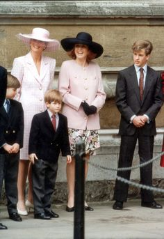Princess Beatrice, Princess Eugenie, Princess Of Wales, Fergie Ferguson, Sarah Ferguson, Diana Son, Lady Diana Spencer, Prince William And Harry, Prince Andrew
