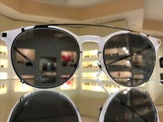 Awesome frame and clip combination from #Mykita from the spring collection.