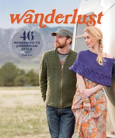 Wanderlust :46 Modern Knits for Bohemian Style - 轻描淡写 - 轻描淡写