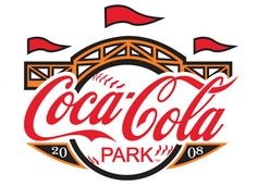 Coke park sign