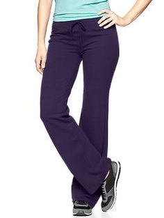GapFit gFlex stretch fleece pants | Gap