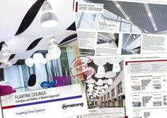 Armstrong Launches Solutions Guide To Floating Ceilings