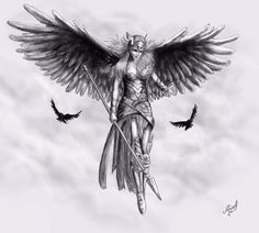 Image result for valkyrie tattoo