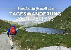 Septimerpass Wanderung Graubünden