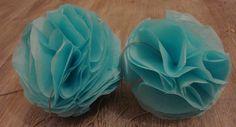 DIY déco — Trois types de pompons en papier de soie pompon 2 10