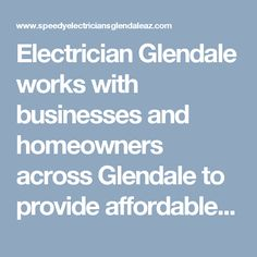 Electrician Glendale works with businesses and homeowners across Glendale to provide affordable electric repair services. Guaranteed quality work at affordable rates, call us on (623) 232-3224 for further information. #ElectriciansGlendaleAZ #BestElectricianGlendale #ElectricalServiceGlendaleAZ #ElectricalContractorsGlendaleAZ #SpeedyElectriciansGlendaleAZ