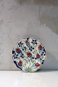 22cm Handmade traditional Anatolian ceramic by IstanbulPottery, $36.00