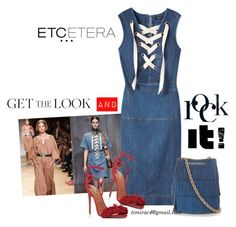 """""""Etcetera Summer 2016: Castaway Dress"""" by timirac on Polyvore featuring Etcetera, Aquazzura and Burberry"""