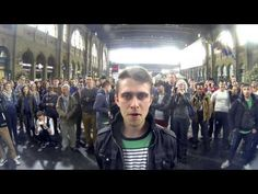 Creativa acción BTL que no debes perder de vista (All eyes on the Samsung S4) - YouTube