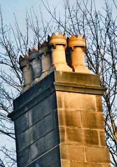 Unglazed Crown Chimney Pots