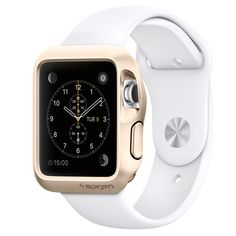 Apple Watch Case Slim Armor (42mm) & (38mm) Gold & white
