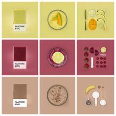 O projeto Pantone Smoothies da artista @hedvigakushner junto com o fotografo @michaelprestia mostra como comida e cores tem tudo a ver. No tumblr do projeto é possivel encontrar as receitas dos smoothies - http://pantonesmoothies.com/ #Pantone #PantoneSmoothies #color #instacool #style #nofilter