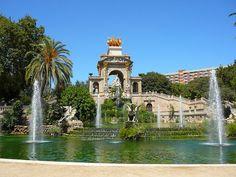 El parque en Barcelona