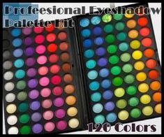 Paletka 120 očných tieňov Eyeshadow, Color, Beauty, Eye Shadow, Colour, Beleza, Eyeshadow Looks, Cosmetology, Eye Shadows