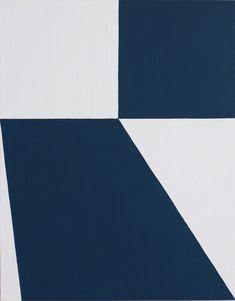 Matthew Feyld - Untitled (Blue White #3) | Oeuvre d'Art en Vente Artsper