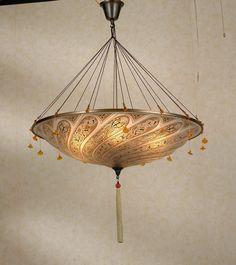 Check this out: Sahara Lighting S301AM Fortuny Pendant