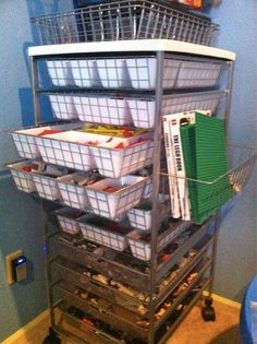 LEGO Storage Solution | The Happy Housewife