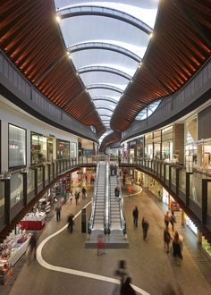 Highpoint Shopping Centre lighting design by Electrolight Mall Design, Retail Design, Shopping Mall Interior, Online Shopping, Shoping Mall, Restaurant Hotel, Skylight Design, Commercial Complex, Commercial Architecture