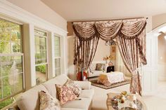 Valance Curtains for Living Room | Valance Curtains for Living Room With Window Glass