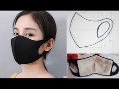 Handmade medical face mask☆Diy Covid Face Mask - New ideas Easy Face Masks, Homemade Face Masks, Diy Face Mask, Paper Wall Hanging, Pocket Pattern, Diy Mask, Mask Design, Sewing Patterns Free, Free Sewing