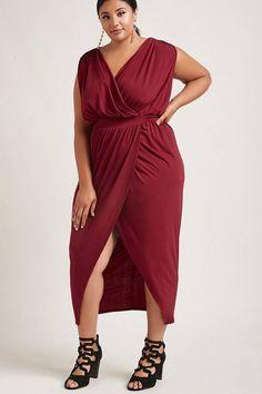 Plus Size tulip maxi dress. aff