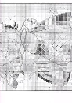 """Telling Her Secret"" Hummel cross stitch design.  Saved from markisa81.gallery.ru"