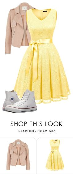 """""""Untitled #169"""" by hannah-oakley on Polyvore featuring River Island and Converse"""