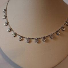 Rhinestone Heart Fashion Valentine Necklace