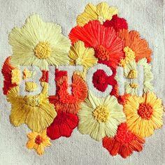 mapibg:#CustomHate made for @covitavita ❤️ #Embroidery...