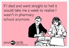 oh pharmacy school...