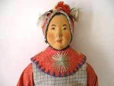 Door of Hope Mission Doll ,  6.75 Inches , Shanghai ,China , c.1901~1937