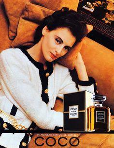 Chanel Perfumes (1985) Coco, Inès de la Fressange