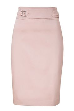 Soft pink, this would be perfect with a tangerine blouse, nude peep toes and some gold accessories. Pretty Clothes, Pretty Outfits, Cute Outfits, Professional Wardrobe, Work Wardrobe, Work Skirts, A Line Skirts, Office Clothing, Evan