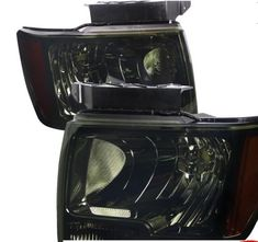 Headlight Chrome Lighting, Headlight Smoke Lens Oem Parts, Gears, Chrome, Smoke, Lighting, Vehicles, Gear Train, Lights, Car