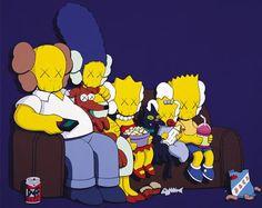 Simpson kaws