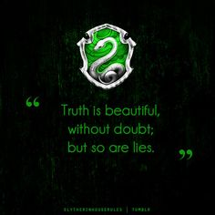 Slytherin House Rules | Tumblr