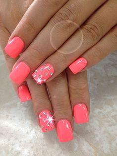 Simple but very cute - nails