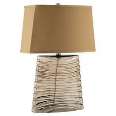 Hamilton Table Lamp Glass Table Lamp Lamp Table Lamp
