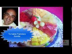 Gelatina Artistica: Como hacer un lirio en gelatina / Lily - YouTube