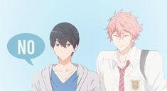 Free! Eternal Summer -Haruka and Kisumi, i love them both omfg adorable cuties