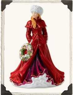 ROYAL DOULTON 'PRETTY LADIES' FIGURE OF THE YEAR - Highly collectible and limited edition beauties continue to sell out each year. Begin your investment this season with one of the most gorgeous figurines to date.