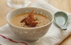 Crema di lenticchie corallo e latte di cocco