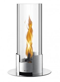 WMF Twistfire New Generation Feuerlicht L Sicherer Stand durch eine Bodenplatte aus Glas. Einfaches Befüllen mit Brennmittel durch extra große Öffnung. Brennmittel: flüssiges Bio-Ethanol. Patentierte Safe Flame Technologie und geprüfte Sicherheit nach DIN4734-1 (Prospekt A)