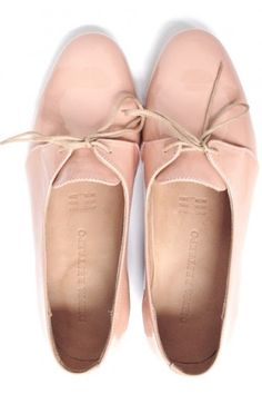 blush leather oxfords for spring