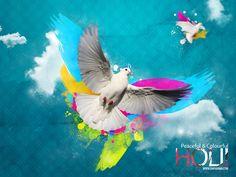 Happy Holi Wallpaper Free Download   Holi Wallpapers   Pinterest