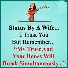 Status by a wife