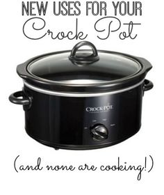 New (non-cooking) uses for your crock pot | www.inspirationformoms.com #sixonsaturday #newusesforthings #crockpot