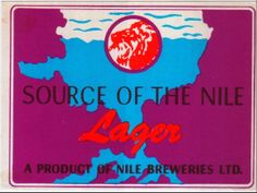 Source of the Nile Lager Uganda Beer Label