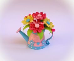 quilling my passion: 3d quilling