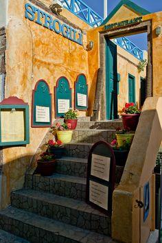 Strongili Restaurant, Santorini, Greece